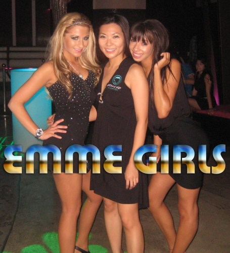 Promotional models, mood enhancers, booth babes, trade show models, promo girls, hire Emme Girls international modeling agency party planner NYC to Amsterdam